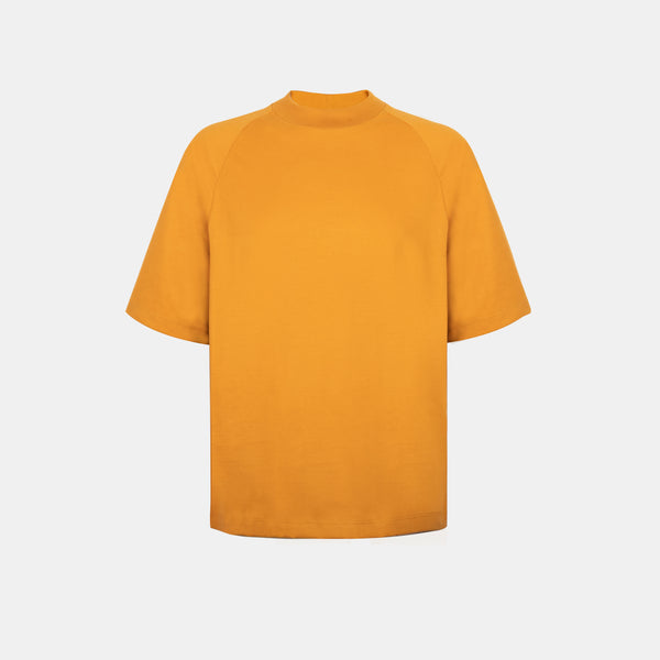 Ultrasoft Elbow Length Tee (Mustard)
