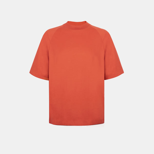 Ultrasoft Elbow Length Tee (Rust)