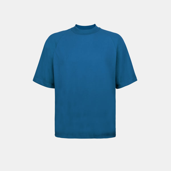Ultrasoft Elbow Length Tee (Teal)
