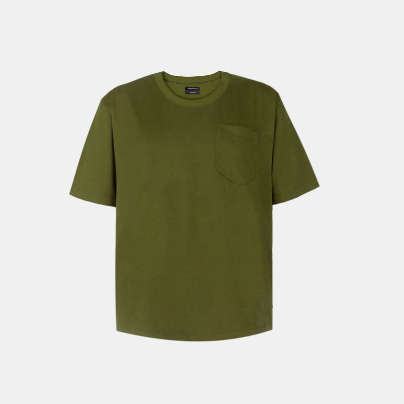 UltraSoft Blend Boxy Tee (Fatigue)