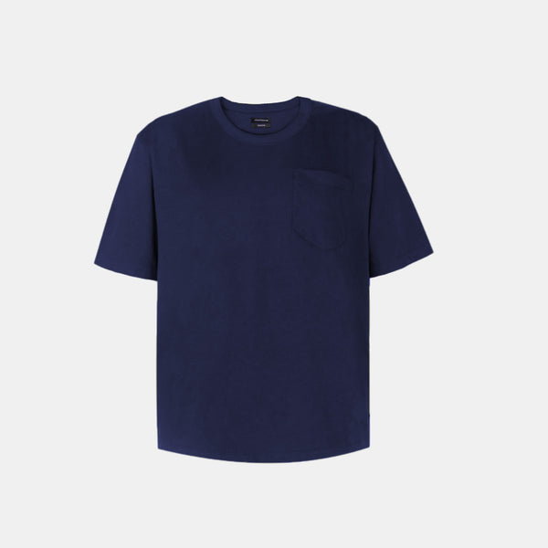 UltraSoft Blend Boxy Tee (Navy Blue)