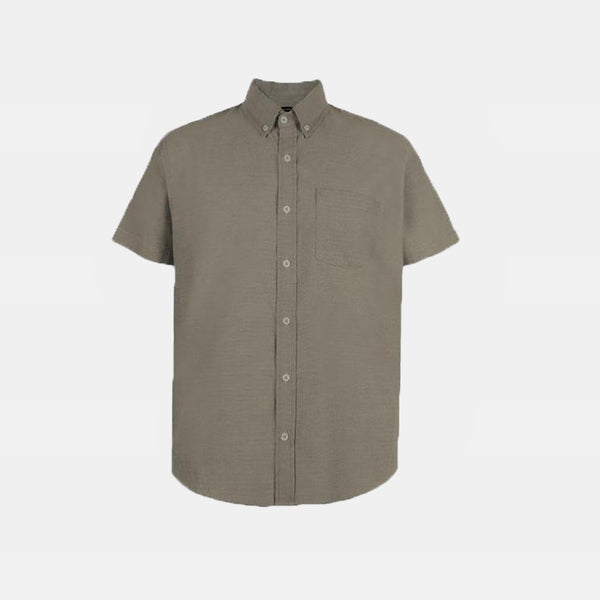 Japanese Chambray Work & Play Shirt (Ash)