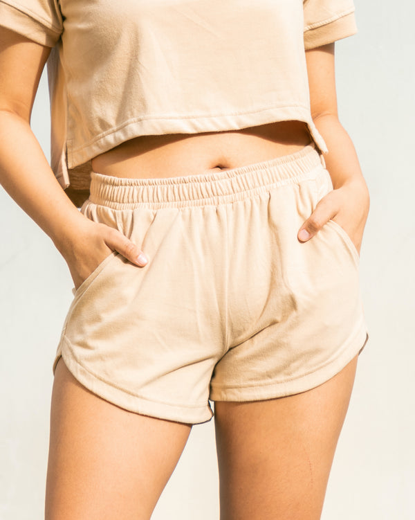 Women's UltraSoft Dolphin Shorts (Khaki)