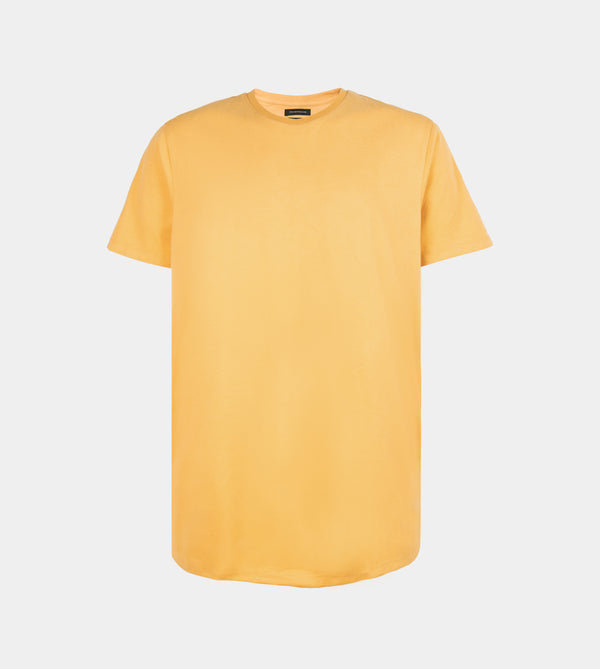 UltraSoft Blend Long Tee (Mustard)