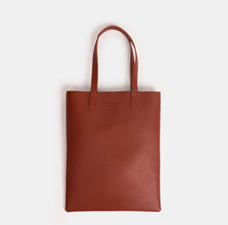 D. V. L. Portrait Tote Bag (Rust)