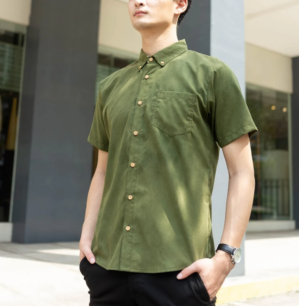 SoftThread Work N Play Shirt (Army Green)