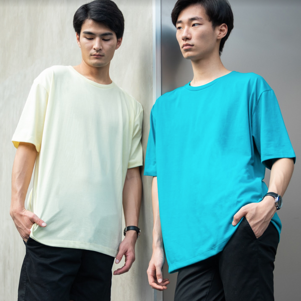 Weighted Blend Oversized Tee (Jade Green)
