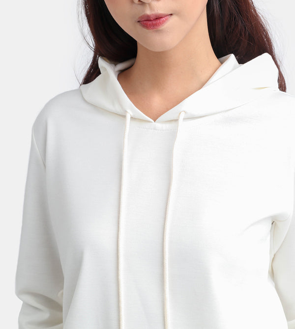 The Classic Cotton Pullover (White)