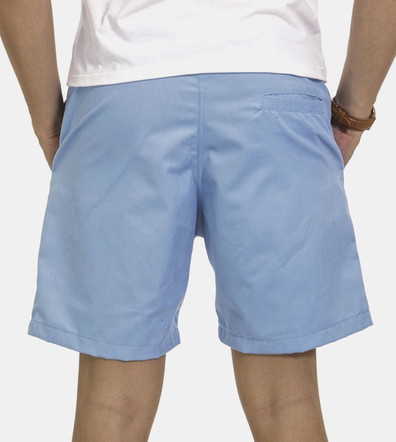 Tailored Shorts (Sky) - Back