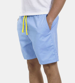 Tailored Shorts (Sky) - Diagonal