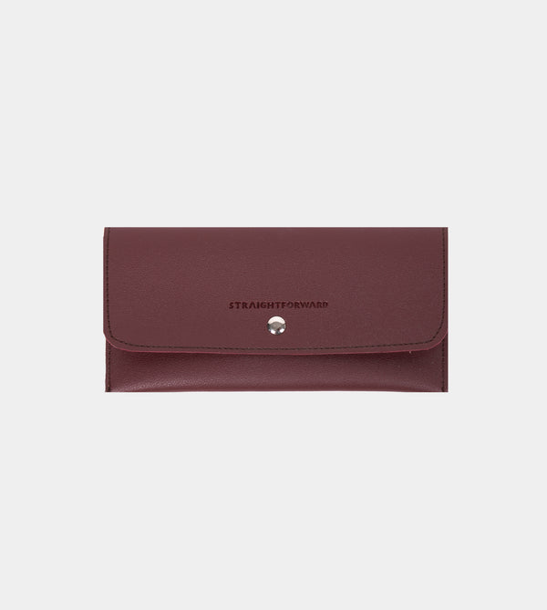 D. V. L. Sunglasses Case (Wine)