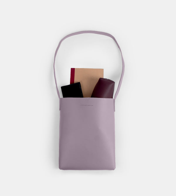 D. V. L. Tote Bag with Sling (Lilac)