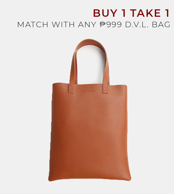 D.V.L. Portrait Tote Bag (Tan)