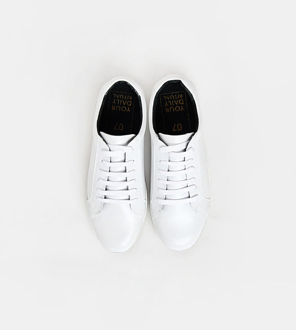 Handcrafted Sneakers (White)