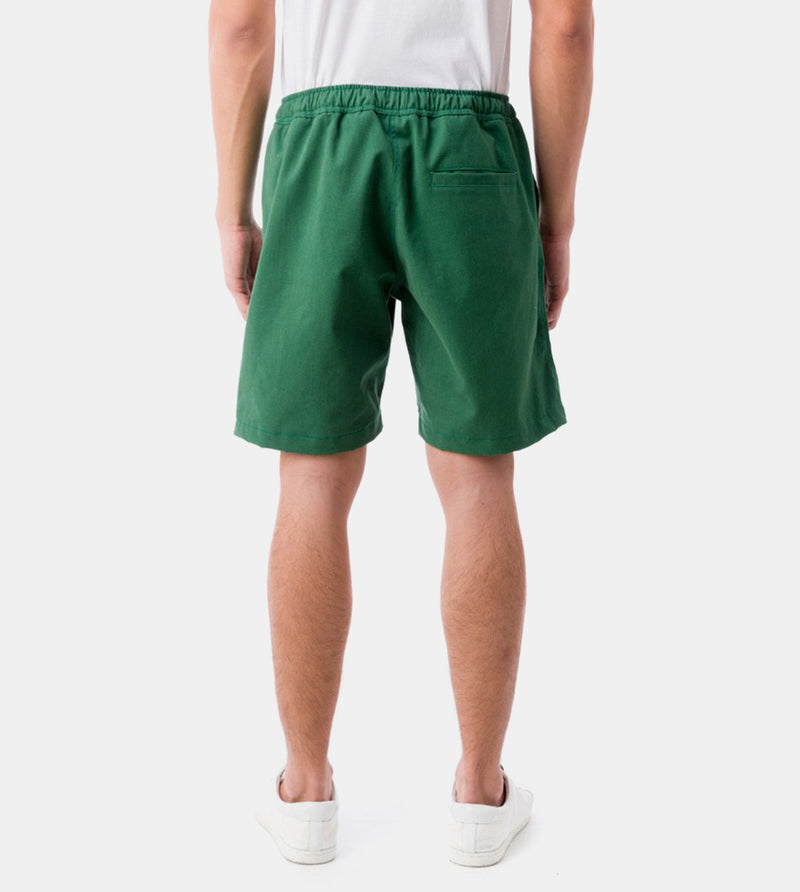 Tailored Shorts (Tropical Green) - Back