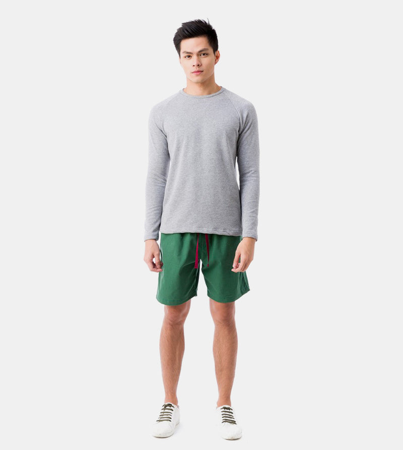 Tailored Shorts (Tropical Green) - Style