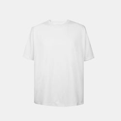 Weighted Blend Oversized Tee (White)