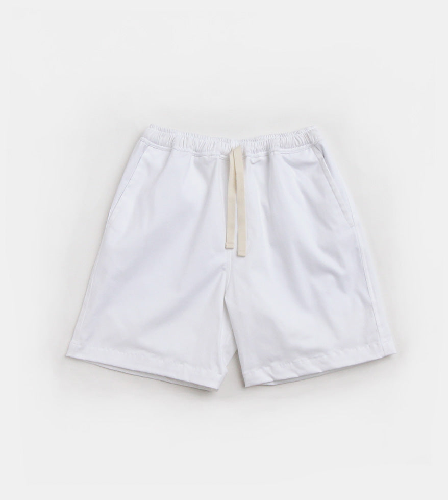 Premium Tailored Shorts (White)
