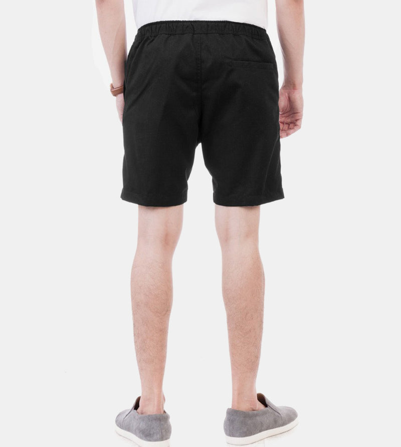 Tailored Shorts (Black) - Back