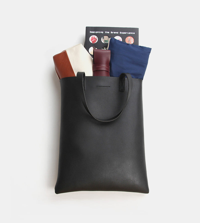 D. V. L. Portrait Tote Bag (Black)