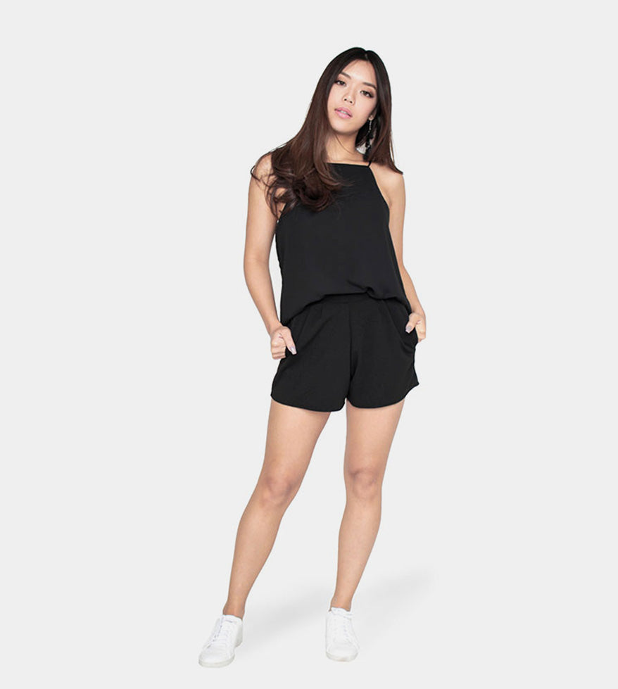 The Weekend Camisole (Black) - Style