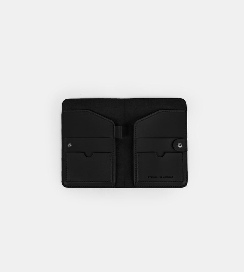 D.V.L. Passport Holder (Black)