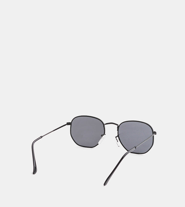 The Switch Black Sunglasses - Back