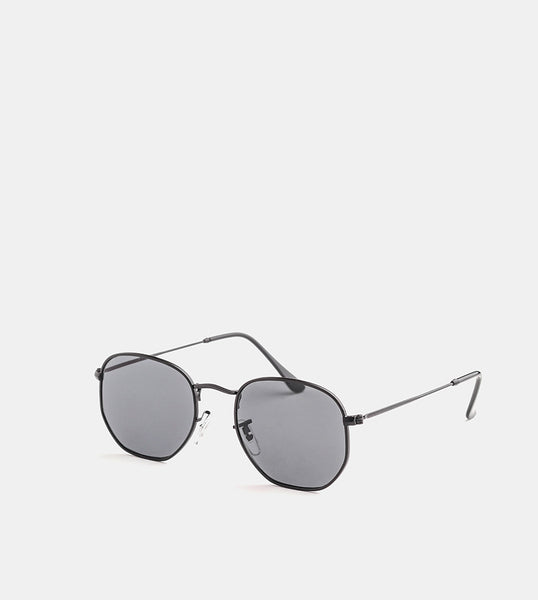 The Switch Black Sunglasses - Diagonal