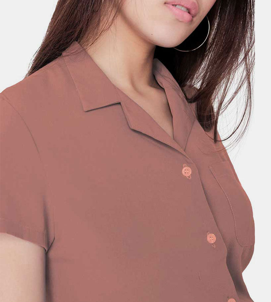 The Experience Smartshirt (Blush) - Detail