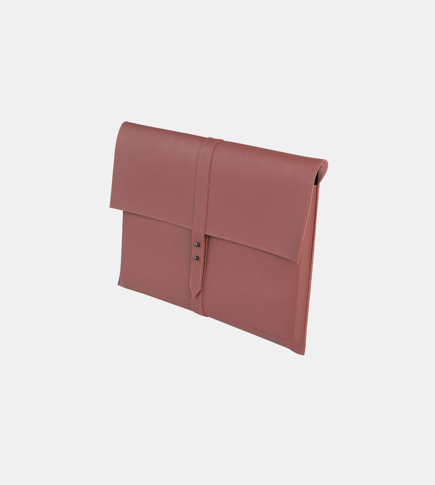 Elegant Laptop Case (Blush) - Diagonal