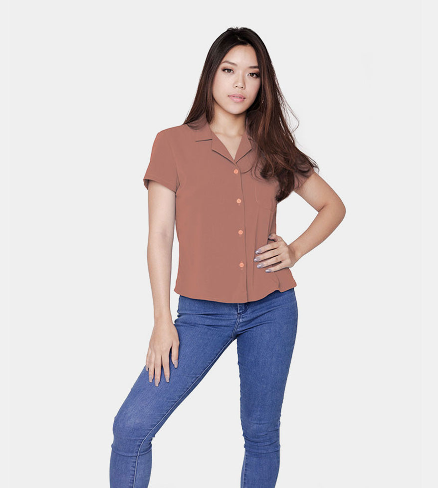 The Experience Smartshirt (Blush) - Front