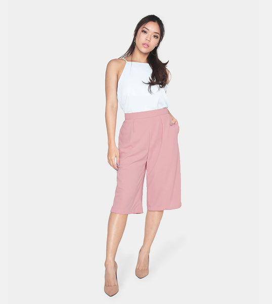 The Power Culottes (Blush) - Style