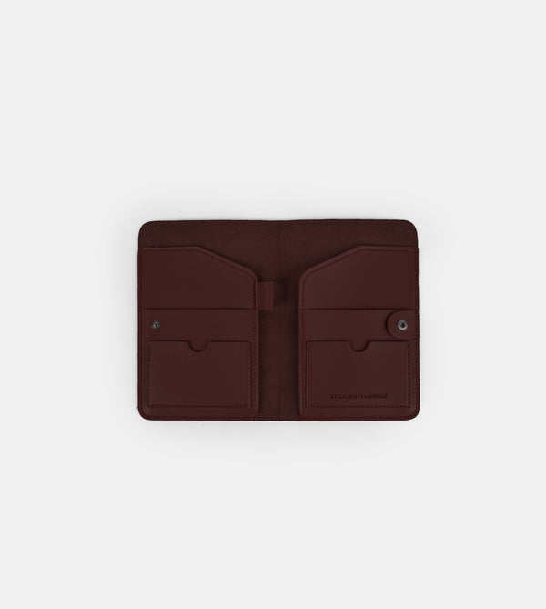 D. V. L. Passport Holder (Chestnut)
