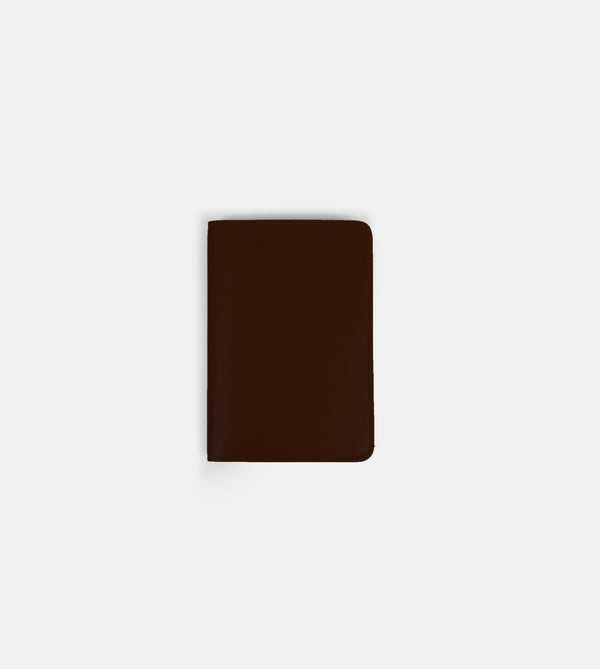 Daily Vegan Leather Passport Holder (Chestnut)