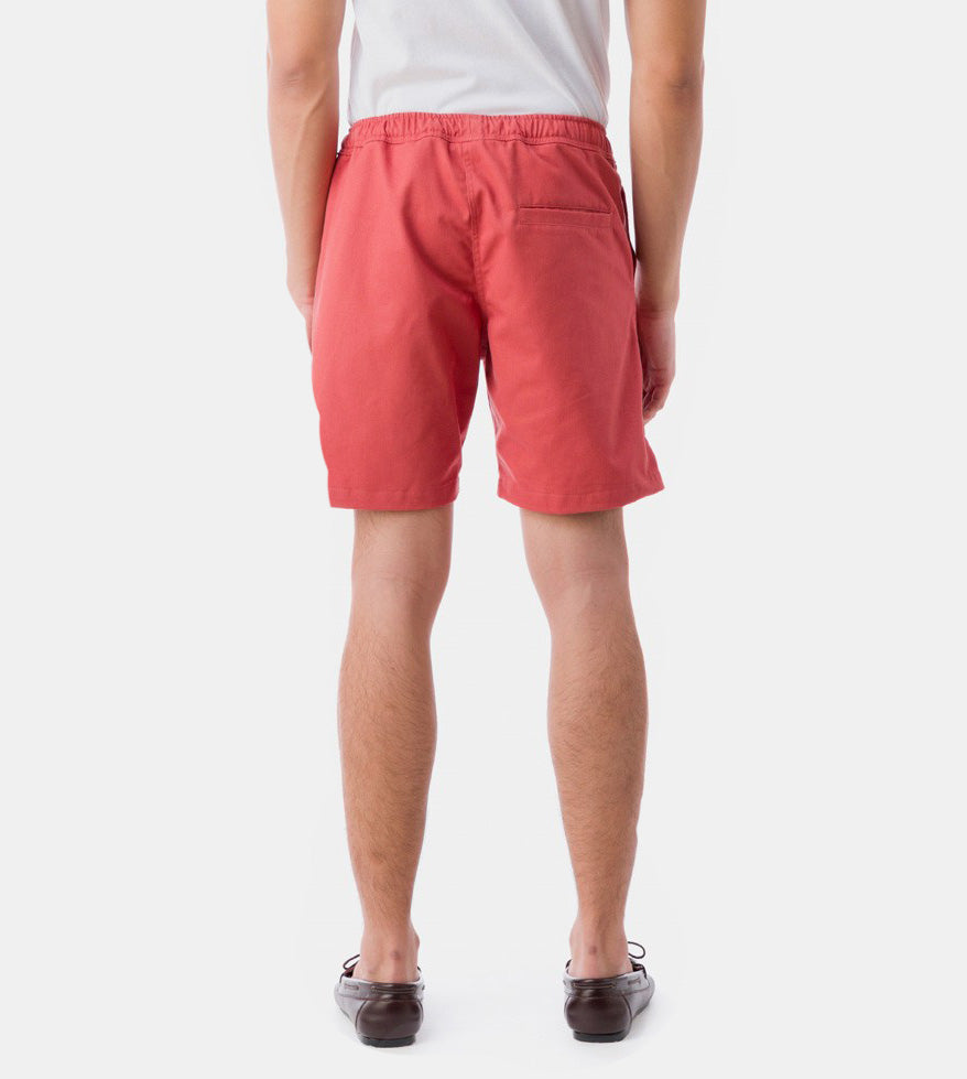 Tailored Shorts (Coral) - Back