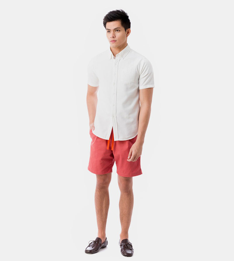 Tailored Shorts (Coral) - Style