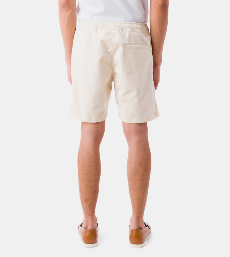Tailored Shorts (Cream) - Back