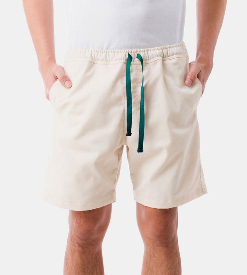 Tailored Shorts (Cream) - Front