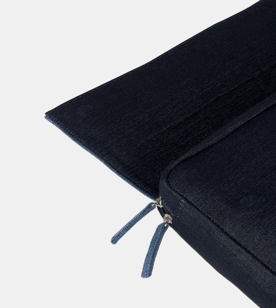 University Laptop Bag (Dark Blue) - Detailed