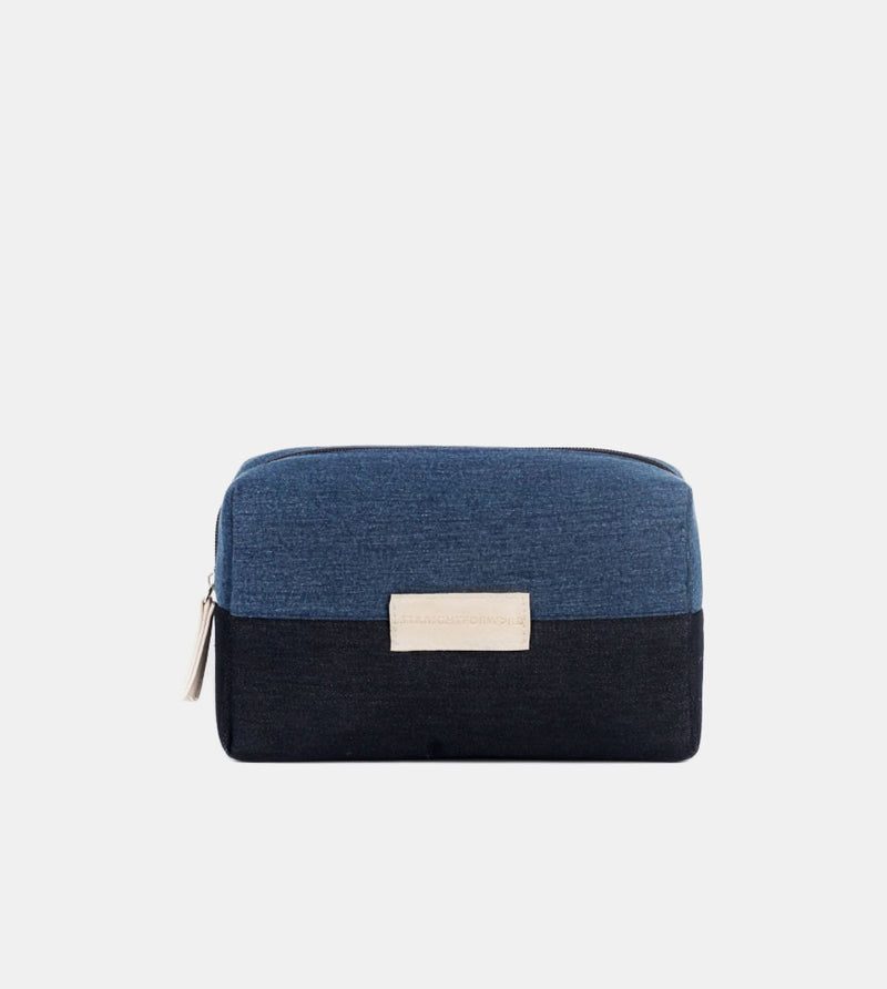 University Pouch (Dark Blue) - Front