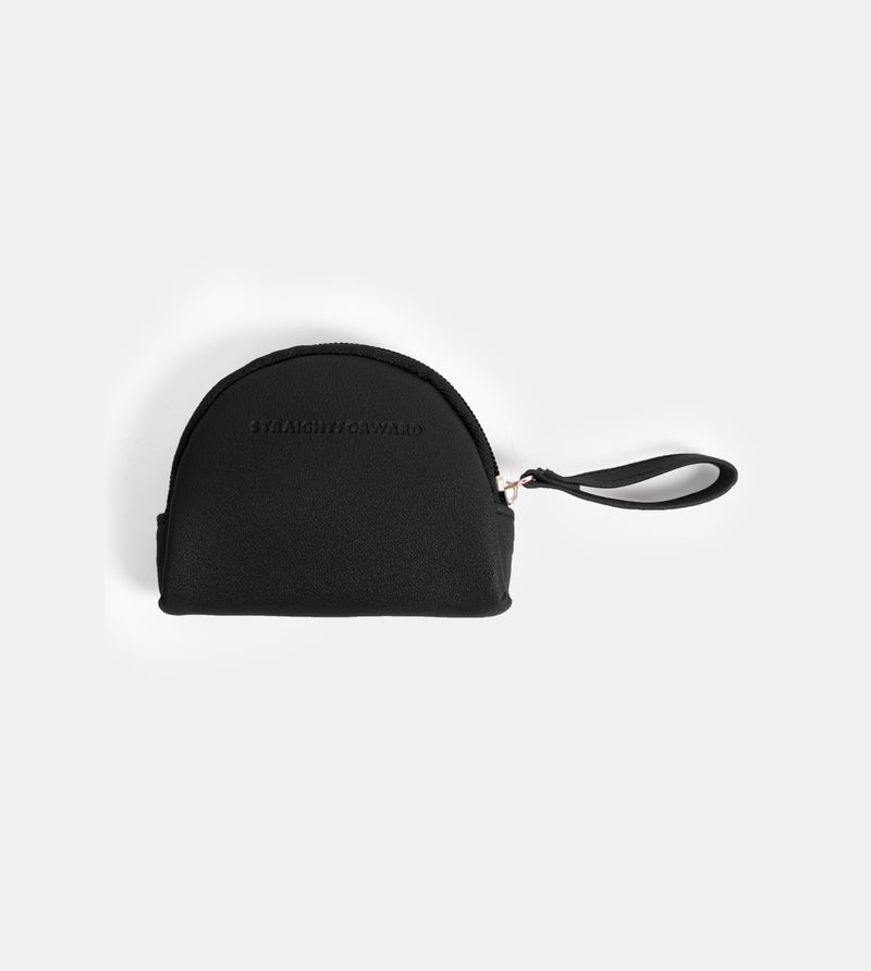 Daily Vegan Leather Coin Pouch (Dome)