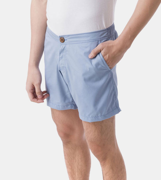 Summer Shorts (Dusk Blue) - Diagonal