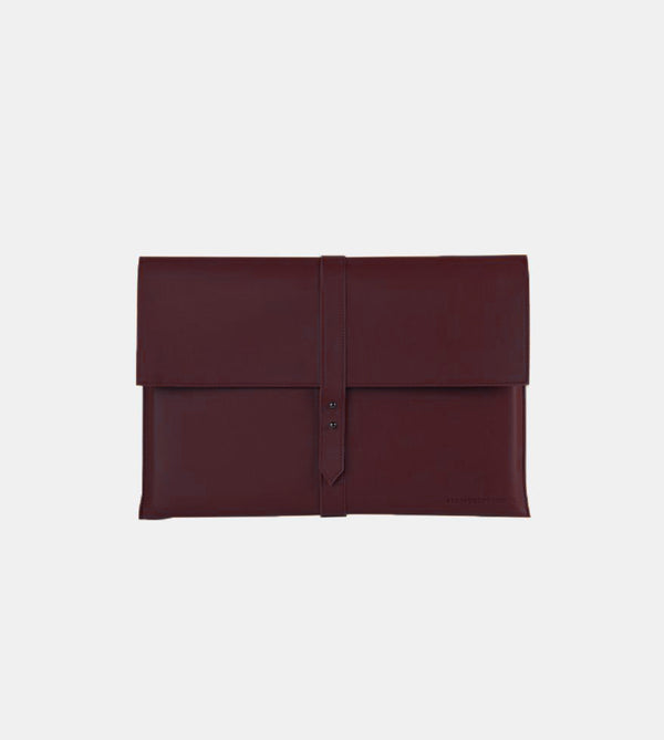 D. V. L. Elegant Laptop Case (Wine)