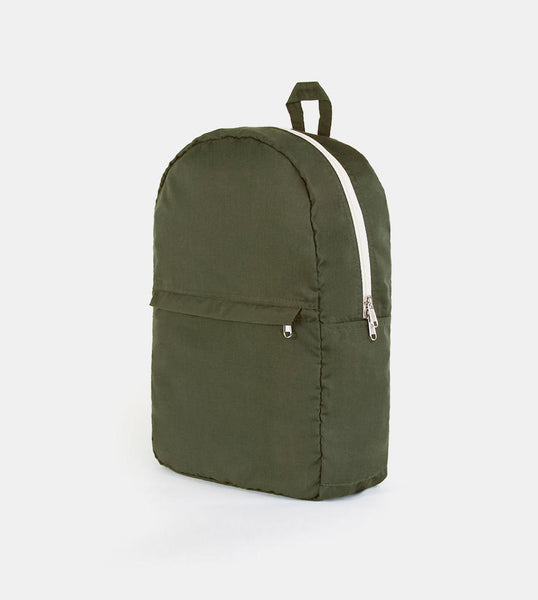 Take Me Everywhere Cotton Backpack (Fatigue)