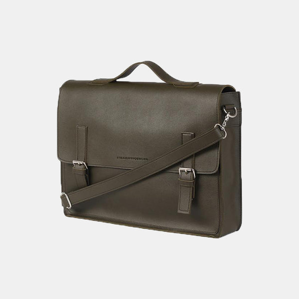 D. V. L. Satchel Bag (Army Green)