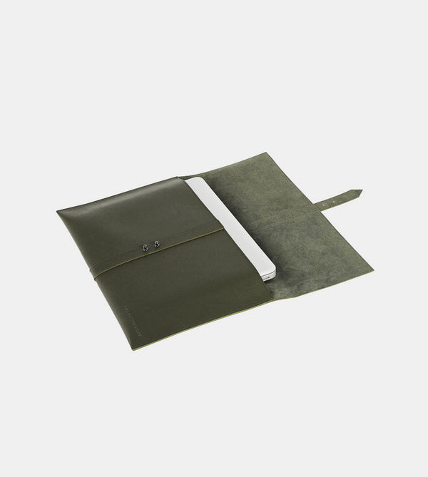 Elegant Laptop Case (Army Green)