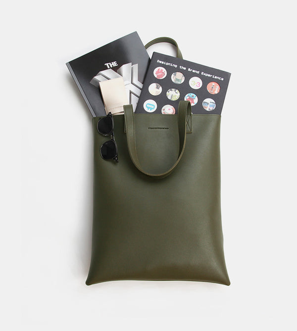 Tote Bag (Army Green) - Flatlay