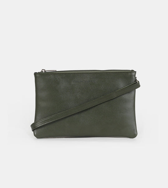 Women's Sling Bag (Army Green) - Front