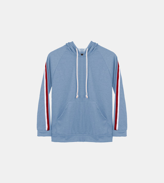 Seasonal French Terry Pullover (Light Blue)