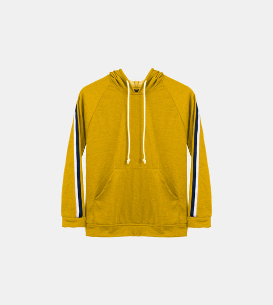 Seasonal French Terry Pullover (Mustard)